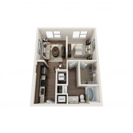 Knox Studio Floorplan